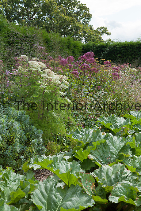 The vegetable garden at Great Dixter
