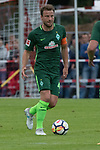 28.07.2017, Sportplatz, Schneverdingen, GER, FSP SV Werder Bremen (GER) vs WestHam United (ENG), <br /> <br /> im Bild<br /> <br /> Philipp Bargfrede (Werder Bremen #44)<br /> Josh Cullen (WestHam)<br /> Foto &copy; nordphoto / Kokenge