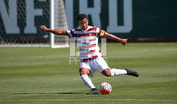 Stanford, CA; Sunday September 6, 2015; Men's Soccer, Stanford vs VCU.