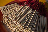 """There are many forms of incense and its use is tied to traditional asian medicine and are still referred today as """"fragrant medicines"""". Use of incense has long been as much for healthy well-being as religious ceremonies. Incense is an aromatic material which puts out fragrant smoke when burned and is used for ceremonies of many religions. It is also sometimes used to cover bad smells and for meditation.  Incense is made of plant materials and the forms differ depending on the culture and is usually made of a paste formed around bamboo sticks."""