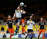Billy Reeves of Port Vale in action with John Fleck of Sheffield Utd  during the English League One match at Vale Park Stadium, Port Vale. Picture date: April 14th 2017. Pic credit should read: Simon Bellis/Sportimage