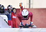 Sophia Jeong (KOR). Skeleton training. Alpensia sliding centrePyeongchang2018 winter Olympics. Alpensia. Republic of Korea. 13/02/2018. ~ MANDATORY CREDIT Garry Bowden/SIPPA - NO UNAUTHORISED USE - +44 7837 394578