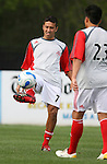 31 March 2007: Toronto's Jose Cancela (URU) (7) and Miguel Canizales (23).  The United Soccer League Division 1 Charleston Battery lost to Major League Soccer expansion team Toronto FC 3-0 in a preseason game at Blackbaud Stadium on Daniel Island in Charleston, SC, as part of the Carolina Challenge Cup.