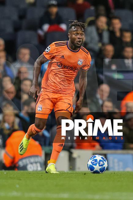 Lenny PINTOR of Olympique Lyonnais during the UEFA Champions League match between Manchester City and Olympique Lyonnais at the Etihad Stadium, Manchester, England on 19 September 2018. Photo by David Horn / PRiME Media Images.