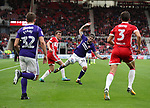 Kieron Freeman of Sheffield Utd during the Sky Bet Championship match at the Riverside Stadium, Middlesbrough. Picture date: August 12th 2017. Picture credit should read: Jamie Tyerman/Sportimage