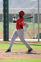 Jaren Matthews - Cincinnati Reds - 2010 Instructional League.Photo by:  Bill Mitchell/Four Seam Images..