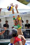 Takemi Nishibori (JPN),.MAY 5, 2012 - Beach Volleyball : JBV Tour 2012 Sports Club NAS Open at Odaiba Beach, Tokyo, Japan. (Photo by Jun Tsukida/AFLO SPORT) [0003].