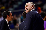 Real Madrid's coach Pablo Laso duringTurkish Airlines Euroleague match between Real Madrid and FC Barcelona Lassa at Wizink Center in Madrid, Spain. March 22, 2017. (ALTERPHOTOS/BorjaB.Hojas)
