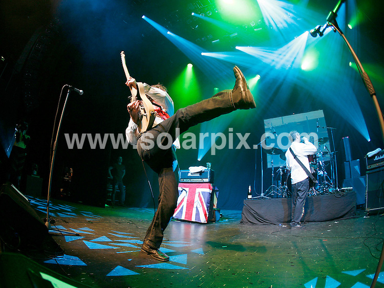 **ALL ROUND PICTURES FROM SOLARPIX.COM**.**WORLDWIDE SYNDICATION RIGHTS**.1980's punk band, The Buzzcocks in concert at the 02 Indigo in London..JOB REF: 5437    SHO        DATE: 01.12.07.**MUST CREDIT SOLARPIX.COM OR DOUBLE FEE WILL BE CHARGED* *UNDER NO CIRCUMSTANCES IS THIS IMAGE TO BE REPRODUCED FOR ANY ONLINE EDITION WITHOUT PRIOR PERMISSION*