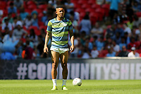 Gabriel Jesus of Manchester City in a skimpy pair of shorts during Chelsea vs Manchester City, FA Community Shield Football at Wembley Stadium on 5th August 2018