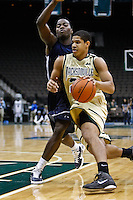 February 08, 2011:   Jacksonville Dolphins guard Tevin Galvin (23)  during Atlantic Sun Conference action between the Jacksonville Dolphins and the North Florida Ospreys at Veterans Memorial Arena in Jacksonville, Florida.  Jacksonville defeated North Florida 71-69.