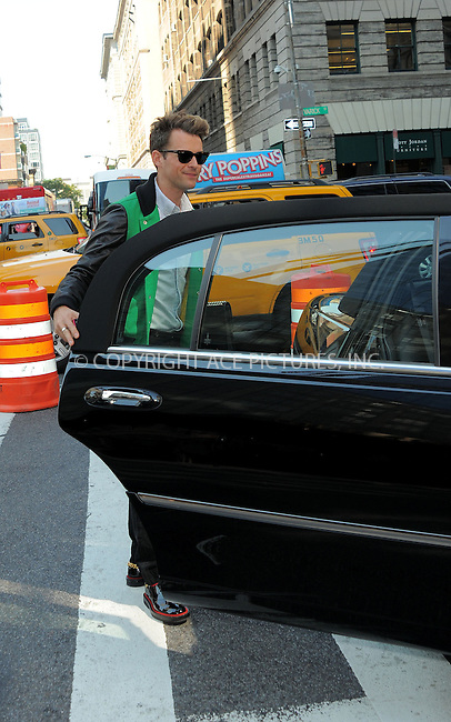 WWW.ACEPIXS.COM......September 13, 2012, New York City, NY.....Brad Goreski out and about on September 13, 2012 in New York City.......By Line: Curtis Means/ACE Pictures....ACE Pictures, Inc..Tel: 646 769 0430..Email: info@acepixs.com