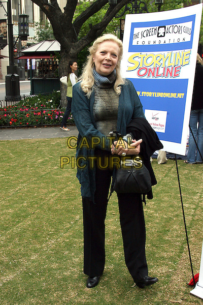 "BARBARA BAIN.The Screen Actors Guild Presents ""Premiere Literary Event"" held at The Grove, Los Angeles, California, USA..September 14th, 2006.Ref: ADM/ZL.full length black trousers green cardigan.www.capitalpictures.com.sales@capitalpictures.com.©Zach Lipp/AdMedia/Capital Pictures."