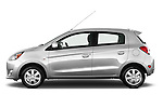 Driver side profile view of a 2014 Mitsubishi SPACE STAR 5 Door Hatchback 2WD