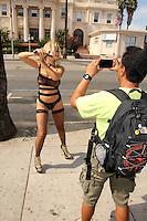 Nadeea<br /> Street Sighting at Comic-Con, San Diego, CA 07-27-14<br /> David Edwards/DailyCeleb.com 818-249-4998
