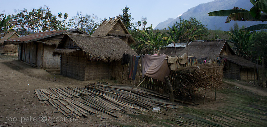 farm house in a small village close to Luang Prabang, Laos, 2012