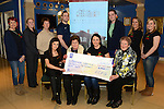 Drogheda Hospice cheque
