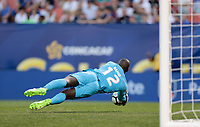 Cleveland, OH - Saturday July 15, 2017: Bill Hamid during a 2017 Gold Cup match between the men's national teams of the United States (USA) and Nicaragua (NCA) at FirstEnergy Stadium.