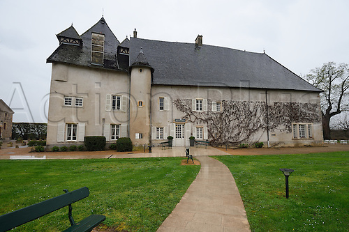 04.05.2016. Hôtel Spa Château de Pizay, Beaujolais, France. The hotel base for Northern ireland national football team for the upcoming Euro 2016 competition.