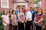19002Appalachian Scholars: left to right:..Wolverton, Brittany / Daniels, Shea / Gray, Megan / Kelly, Daniel / Price, Jessica / Capper, Christopher / Alexander, Eric / Neuhart, Stephen Michael / Lydick, Trace/  Dufore, Katherine