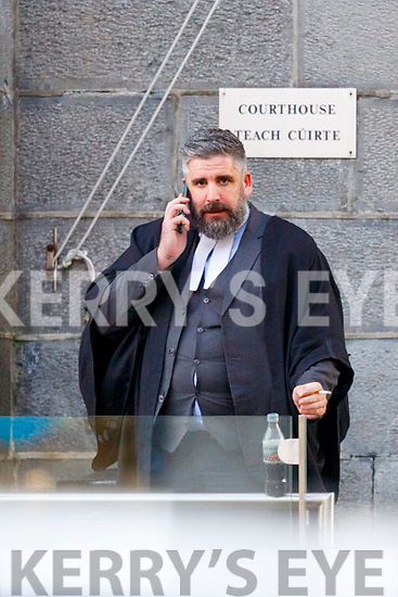 Barrister Kenny Kerins at Killarney court on Monday