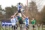 Tralee Bryan O'Sullivan, receives the ball at the Munster Junior League (Div 1) Tralee RFC v Mallow RFC at O'Dowd Park on Sunday
