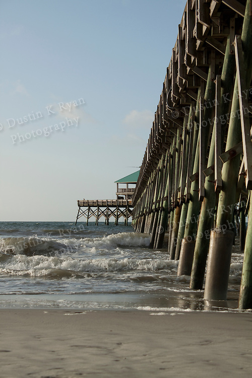 Folly Beach South Carolina Pier and Surf
