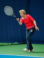Hilversum, The Netherlands, March 10, 2016,  Tulip Tennis Center, NOVK, Patricia Blaas-Van Den Heuvel<br /> Photo: Tennisimages/Henk Koster