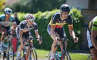 Heistse Pijl 2013<br /> <br /> Tom Boonen (BEL) rolling in the pack
