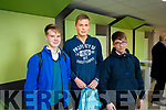 Mercy Mounthawk Secondary School students, Filip Zielinski, Kamil Poluch and Evalds Nikolajevs, pictured at the IT Tralee Open Day on Friday last.
