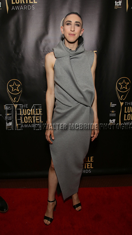 Jo Lampert  attends 32nd Annual Lucille Lortel Awards at NYU Skirball Center on May 7, 2017 in New York City.