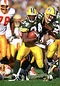 Green Bay Packers Edgar Bennett (34) during a game against the Tampa Bay Buccaneers on October 27, 1996.  Edgar Bennett played for 7 years all with 2 different teams.(SportPics)