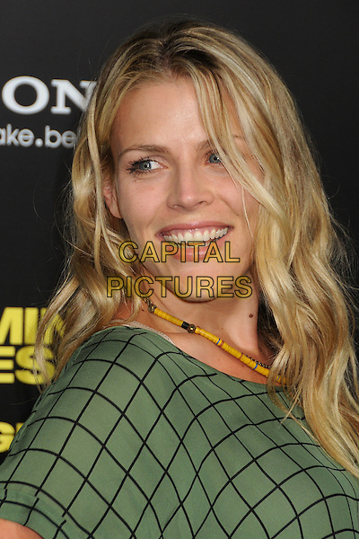 """Busy Philipps.""""30 Minutes or Less"""" World Premiere held at Grauman's Chinese Theatre, Hollywood, California, USA..August 8th, 2011.headshot portrait top check .CAP/ADM/BP.©Byron Purvis/AdMedia/Capital Pictures."""
