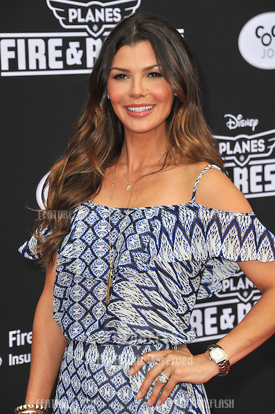 Ali Landry at the world premiere of Disney's &quot;Planes: Fire &amp; Rescue&quot; at the El Capitan Theatre, Hollywood.<br /> July 15, 2014  Los Angeles, CA<br /> Picture: Paul Smith / Featureflash