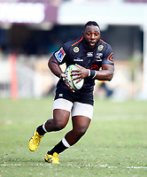 DURBAN, SOUTH AFRICA - APRIL 19: Tendai Beast Mtawarira of the Cell C Sharks during the Super Rugby match between Cell C Sharks and Reds at Jonsson Kings Park Stadium on April 19, 2019 in Durban, South Africa. Photo: Steve Haag / stevehaagsports.com