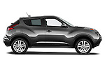 Driver Side Profile View  2011 Nissan Juke SV SUV 2 Stock Photo