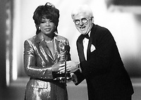 Oprah Winfrey Phil Donahue<br /> Photo By John Barrett-PHOTOlink.net