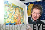 Killarney artist Dermot McCarthy who will be holding his art exhibition 'The Homecoming' in the chapel on the hill in Killorglin from 11th-24th december   Copyright Kerry's Eye 2008