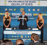 2014 CONCACAF Draw, Miami, November 7, 2012