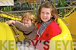 Fun Fair : Enjoyinf the fun fair during Listowel Races were Calvin & Kara O'Sullivan, Finuge.