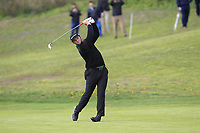 Jon Rahm (ESP) on the 1st fairway during Round 1 of the Open de Espana 2018 at Centro Nacional de Golf on Thursday 12th April 2018.<br /> Picture:  Thos Caffrey / www.golffile.ie<br /> <br /> All photo usage must carry mandatory copyright credit (&copy; Golffile | Thos Caffrey)