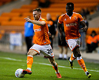 Blackpool's Ollie Turton<br /> <br /> Photographer Alex Dodd/CameraSport<br /> <br /> The EFL Checkatrade Trophy Northern Group C - Blackpool v West Bromwich Albion U21 - Tuesday 9th October 2018 - Bloomfield Road - Blackpool<br />  <br /> World Copyright &copy; 2018 CameraSport. All rights reserved. 43 Linden Ave. Countesthorpe. Leicester. England. LE8 5PG - Tel: +44 (0) 116 277 4147 - admin@camerasport.com - www.camerasport.com