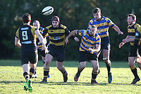 Upminster RFC vs Billericay RFC, Essex Canterbury Jack League Rugby Union at Hall Lane Playing Fields on 3rd November 2018