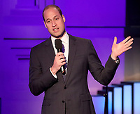 18 April 2017 - Prince William, Duke of Cambridge speaks on stage at the screening of the BBC documentary 'Mind over Marathon' at BBC Radio Theatre in London. The screening also launches the BBC season on mental health. Photo Credit: ALPR/AdMedia