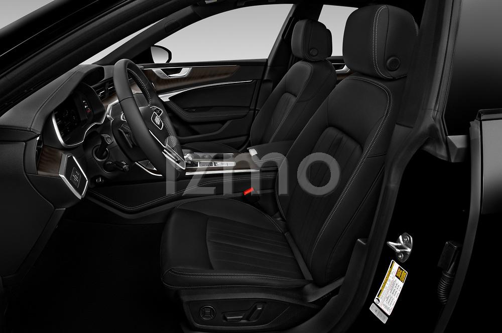 Front seat view of 2020 Audi A7 Premium-Plus 5 Door Hatchback Front Seat  car photos