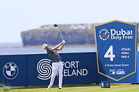 Justin Harding (RSA) tees off the 4th tee during Thursday's Round 1 of the Dubai Duty Free Irish Open 2019, held at Lahinch Golf Club, Lahinch, Ireland. 4th July 2019.<br /> Picture: Eoin Clarke | Golffile<br /> <br /> <br /> All photos usage must carry mandatory copyright credit (© Golffile | Eoin Clarke)