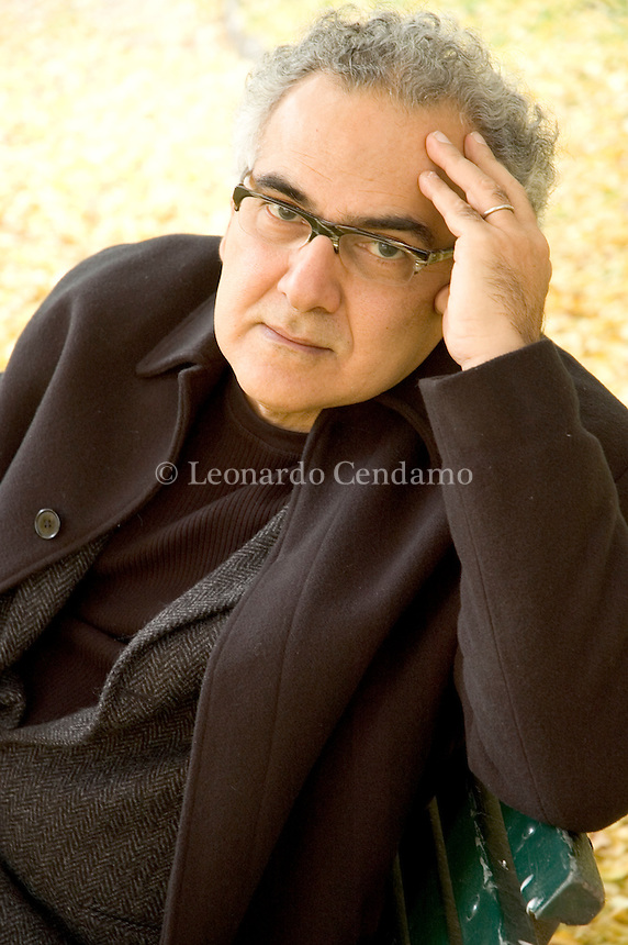 Milan, Italy, 2005. Milton Hatoum, Brazilian writer, translator and professor.