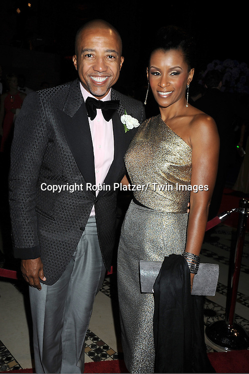 Kevin Liles and Trez Song mother attends The New Yorkers for Children 2011 Fall Gala .on September 20, 2011 at Cipriani 42nd Street in New York City. Carmelo Anthony was honored.