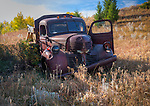 A rusted old truck in Southwest Montana.