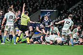 7th December 2017, Twickenham Stadium, London, England; The Varsity Match, Cambridge versus Oxford;  Oxfords Will Wilson scores in the 65th minute